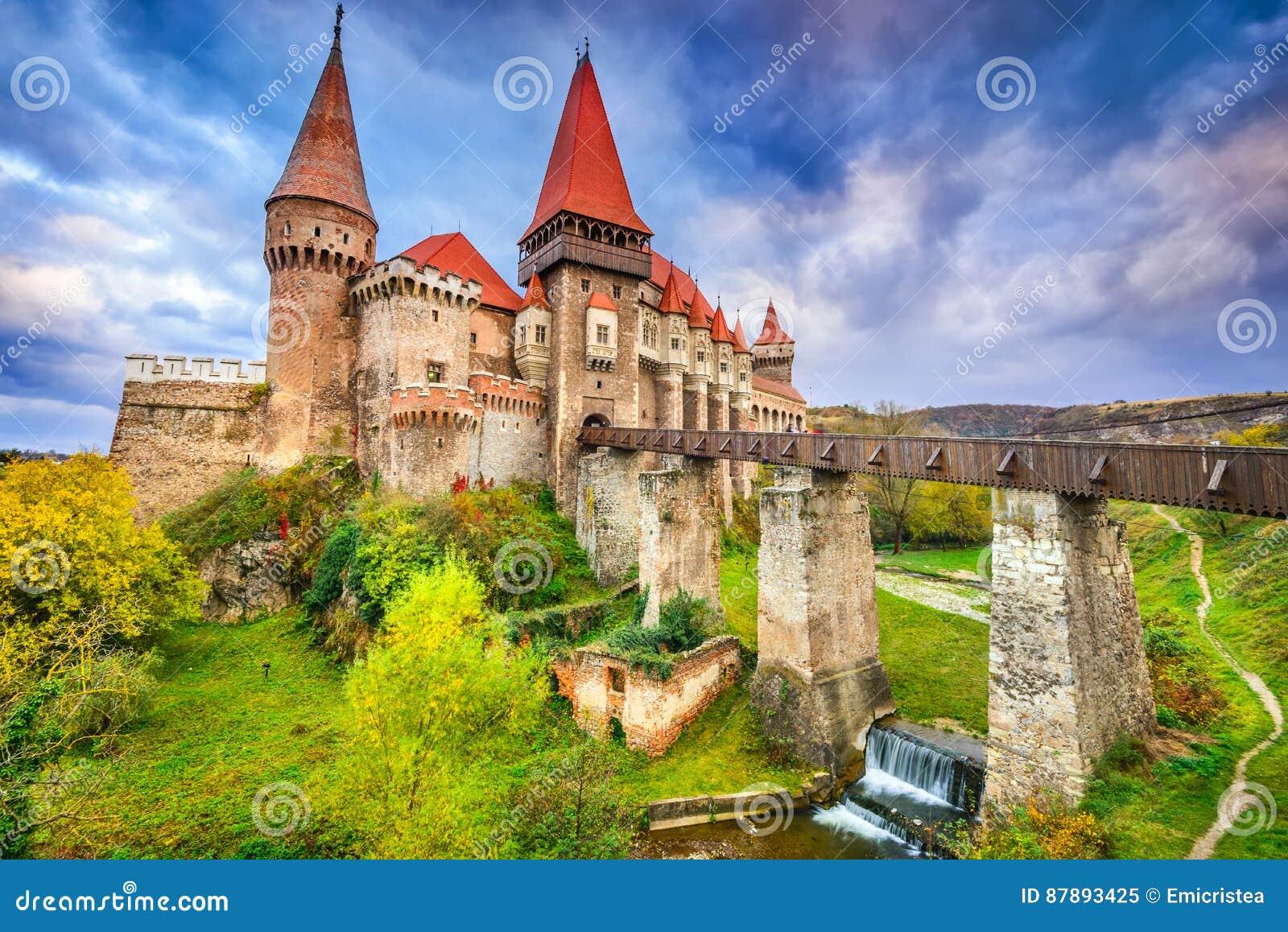 Château de Corvin - Hunedoara, la Transylvanie, Roumanie