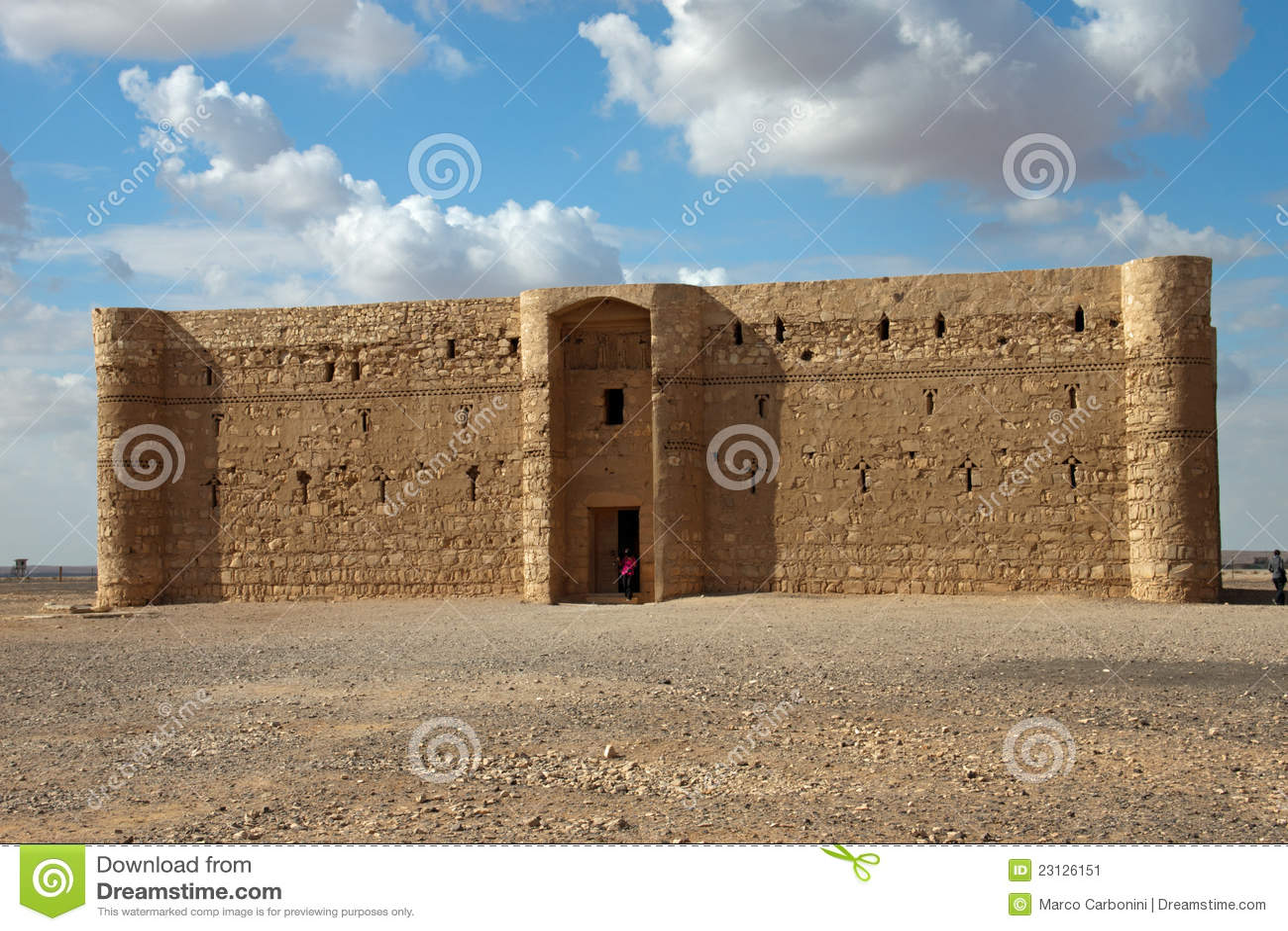 Château de désert de Kaharana en Jordanie