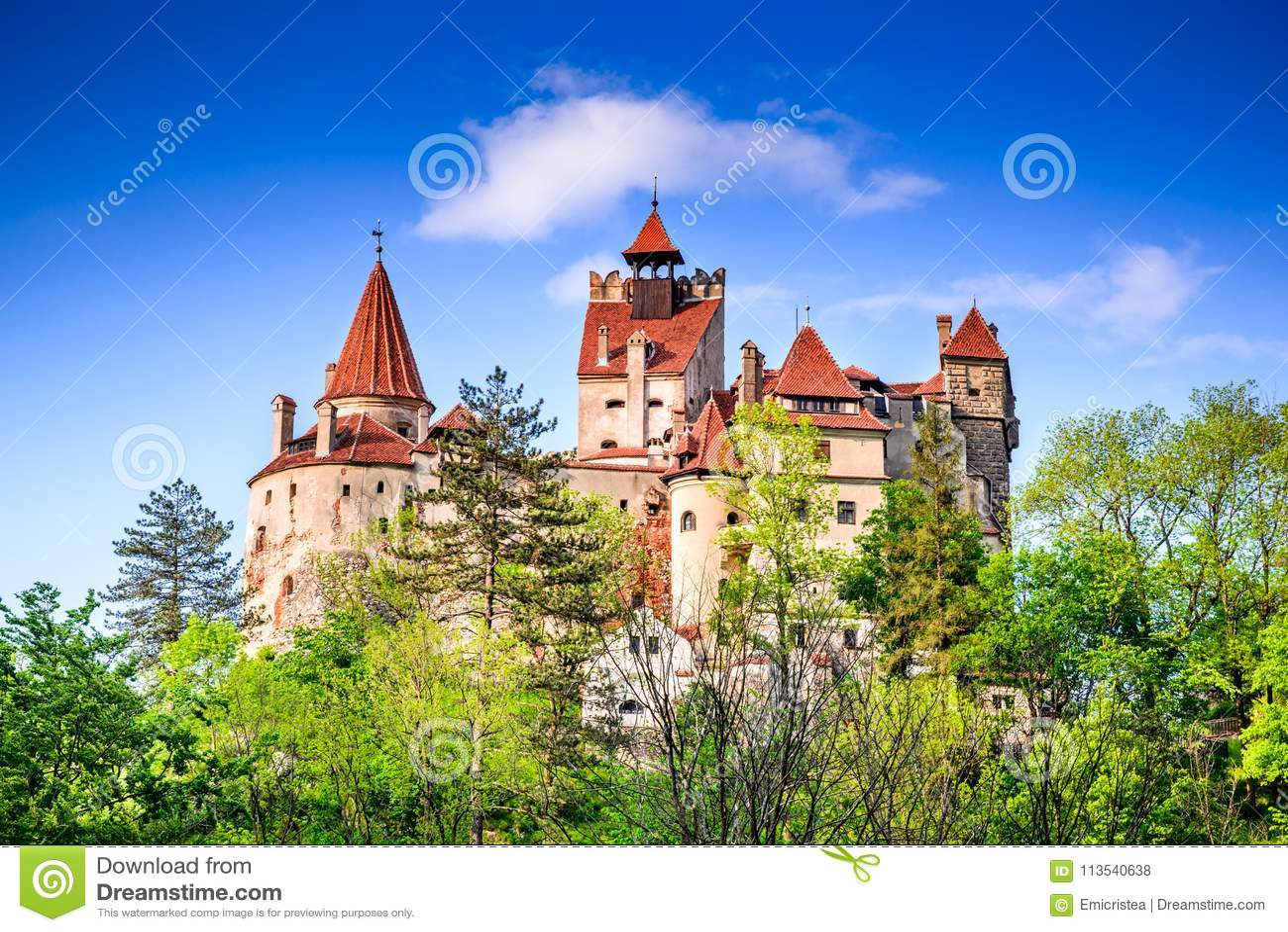 Château de Dracula, son - Roumanie la Transylvanie