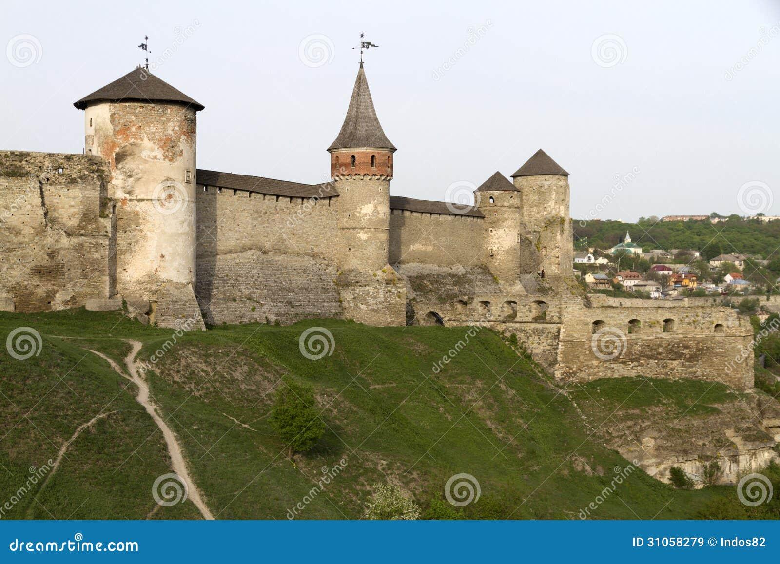 Château de Kamianets-Podilskyi