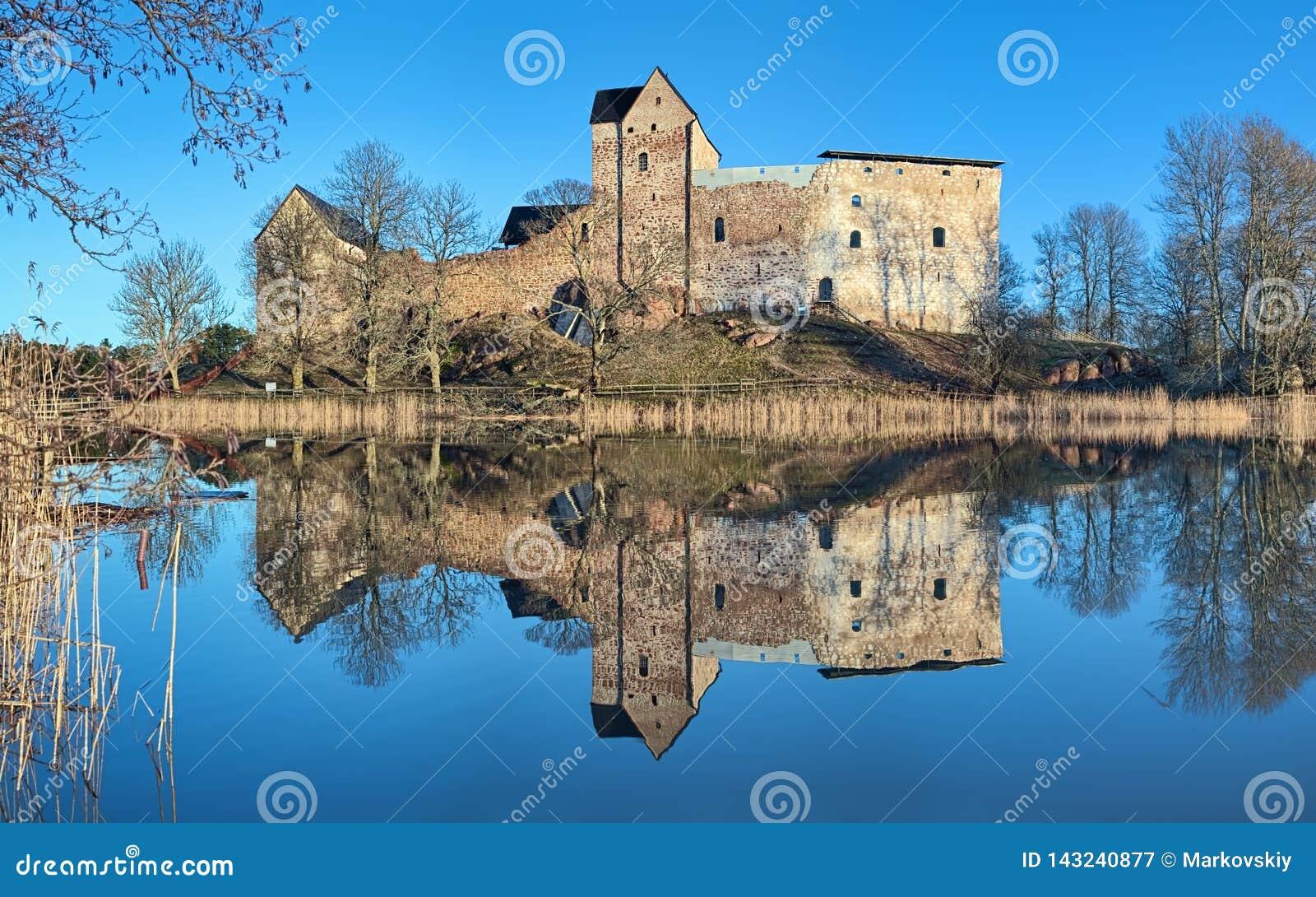 Château de Kastelholm aux îles d Aland