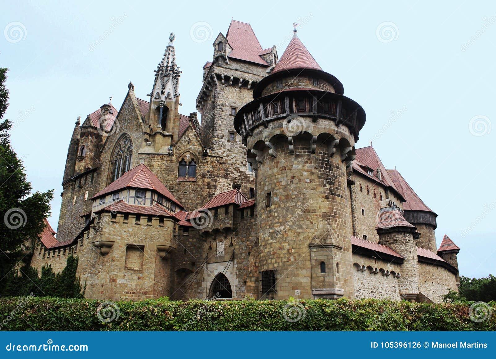 Château de Kreuzenstein de Burg