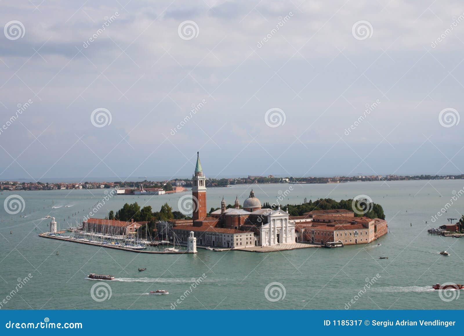 Château de l Italie - de Venise dans l eau