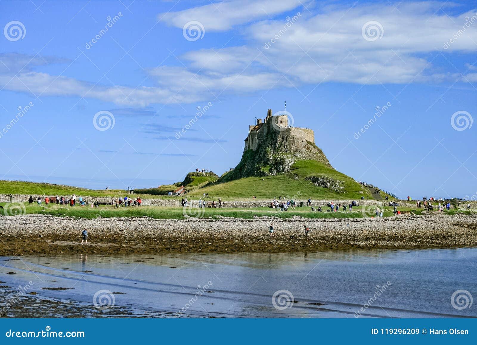 Château de Lindisfarne LE R-U