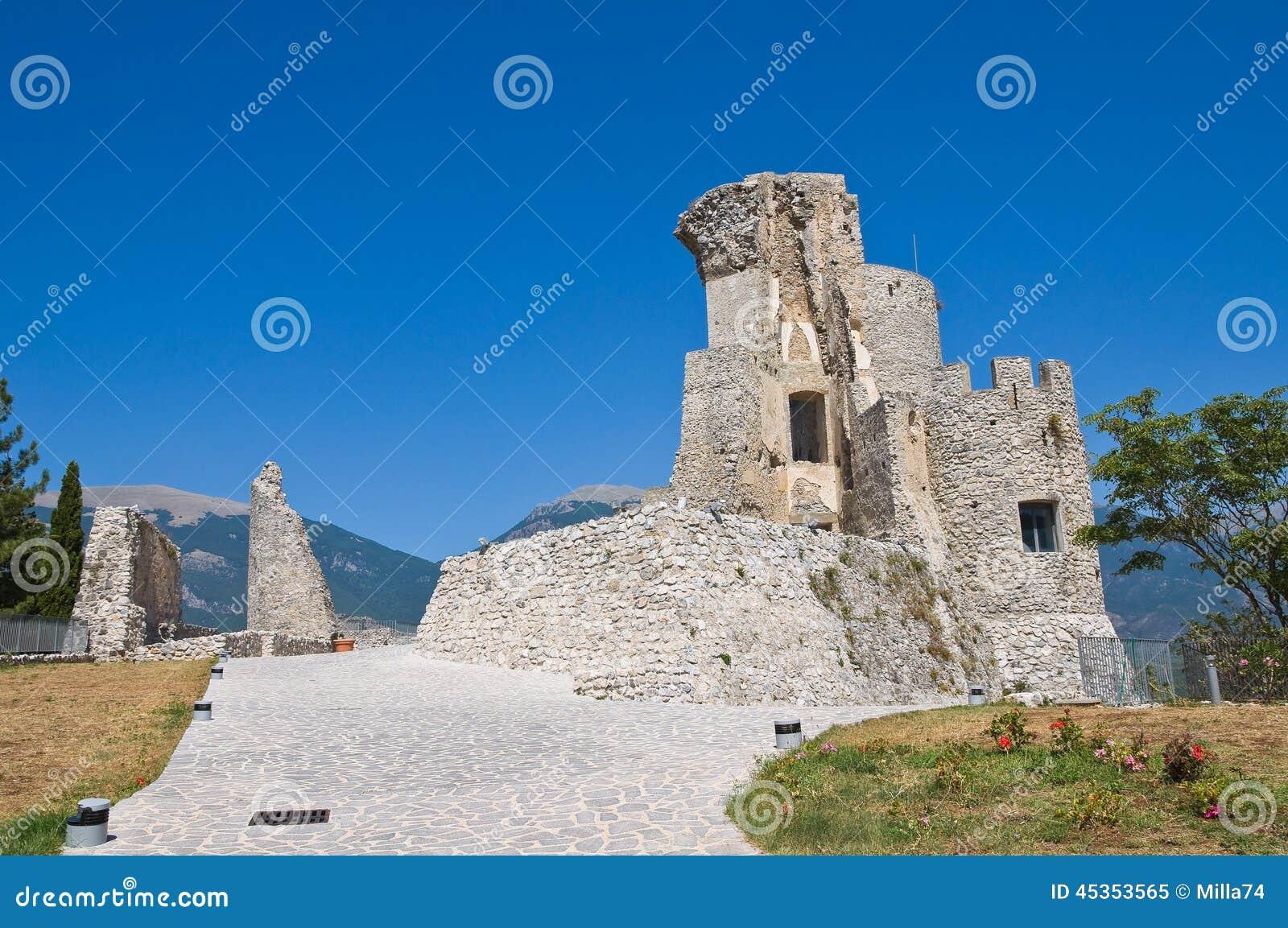 Château de Morano Calabro La Calabre l Italie
