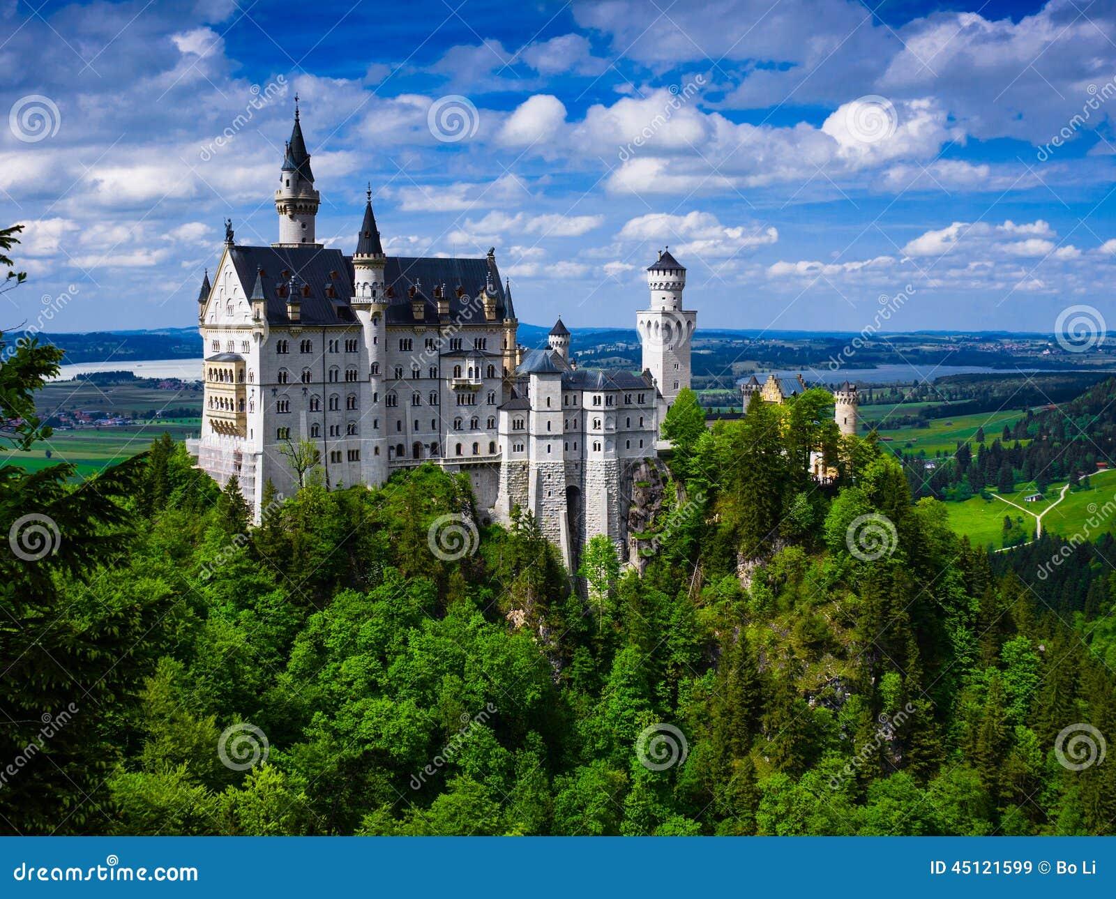 Château de Neuschwanstein (nouveau château de Swanstone)