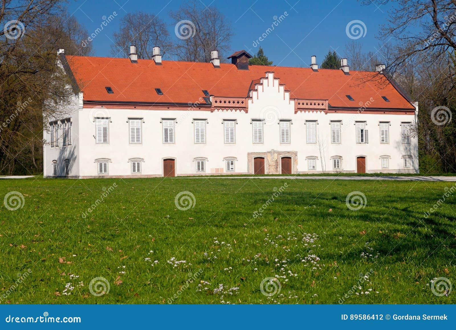 Château de Novi Dvori dans Zapresic, Croatie