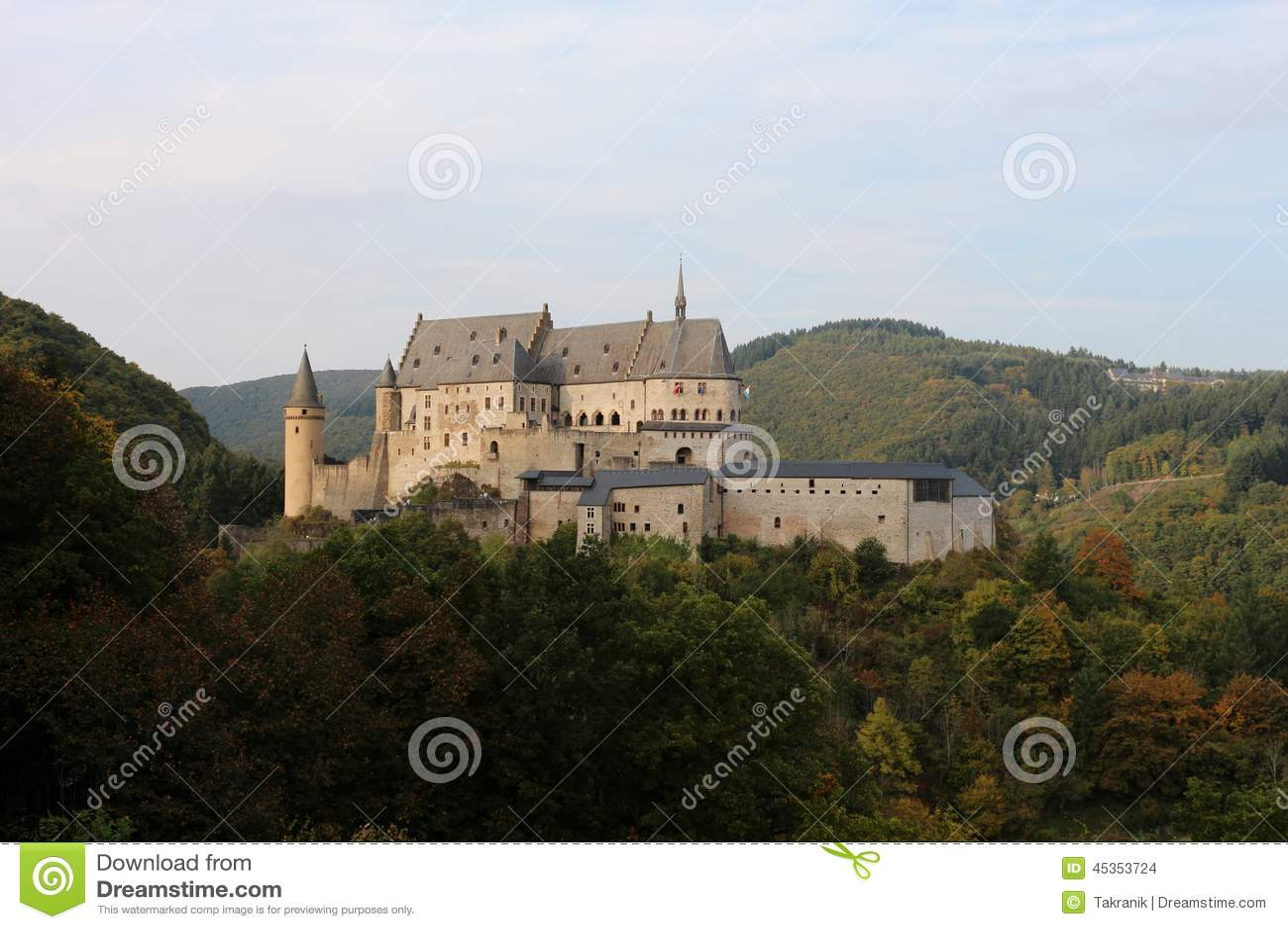 Château de Vianden, Luxembourg