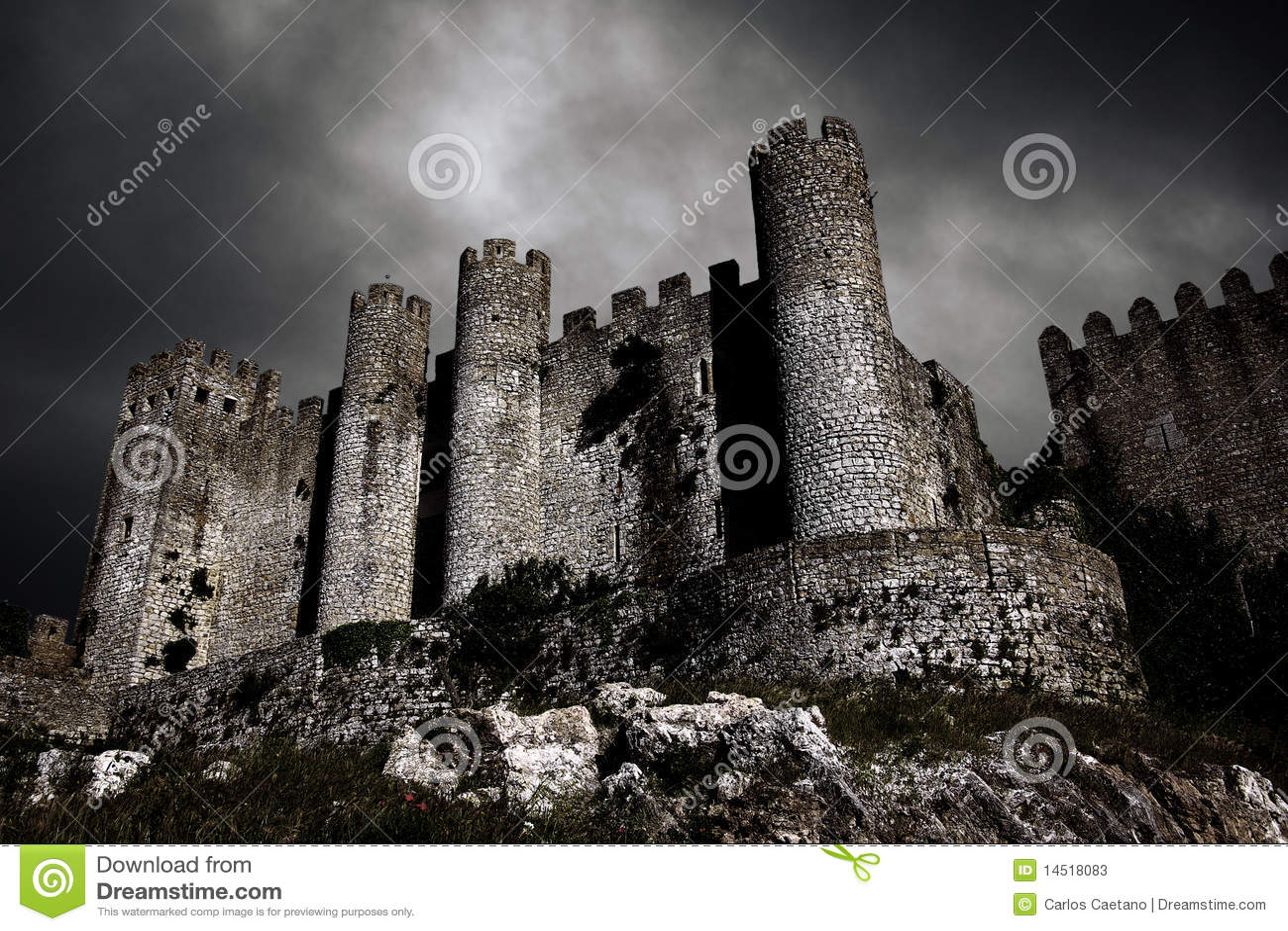 Château foncé