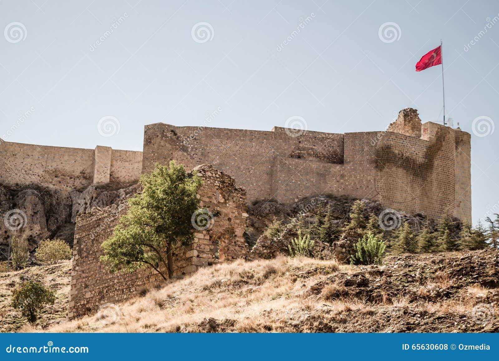 Château historique de Harput dans Elazig, Turquie