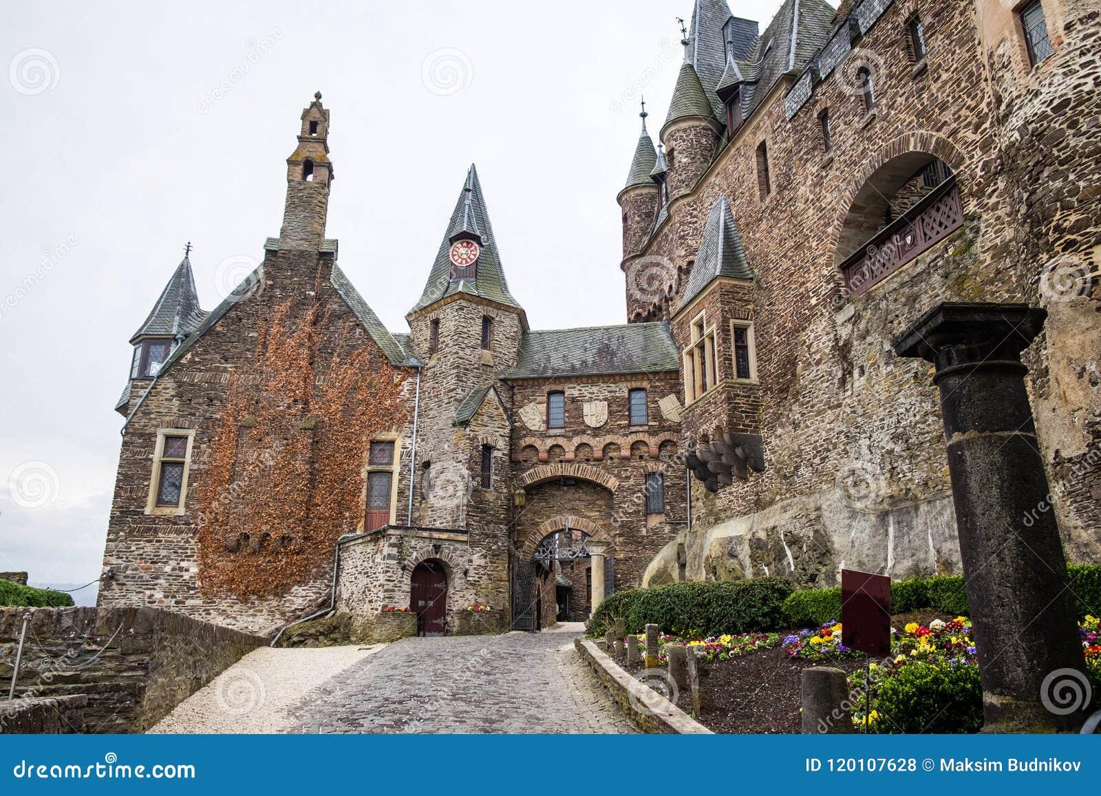 Château impérial de Cochem le Reichsburg Cochem