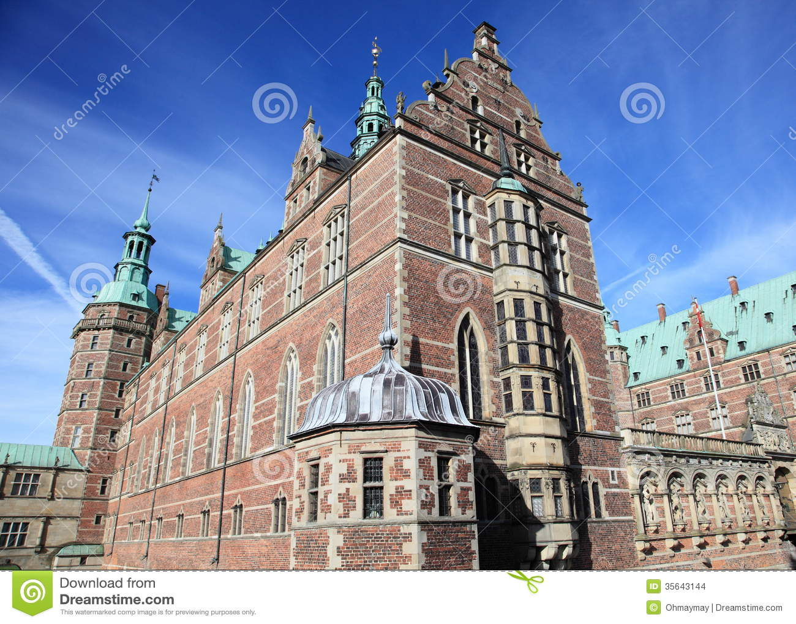 Château ingénieux au Danemark