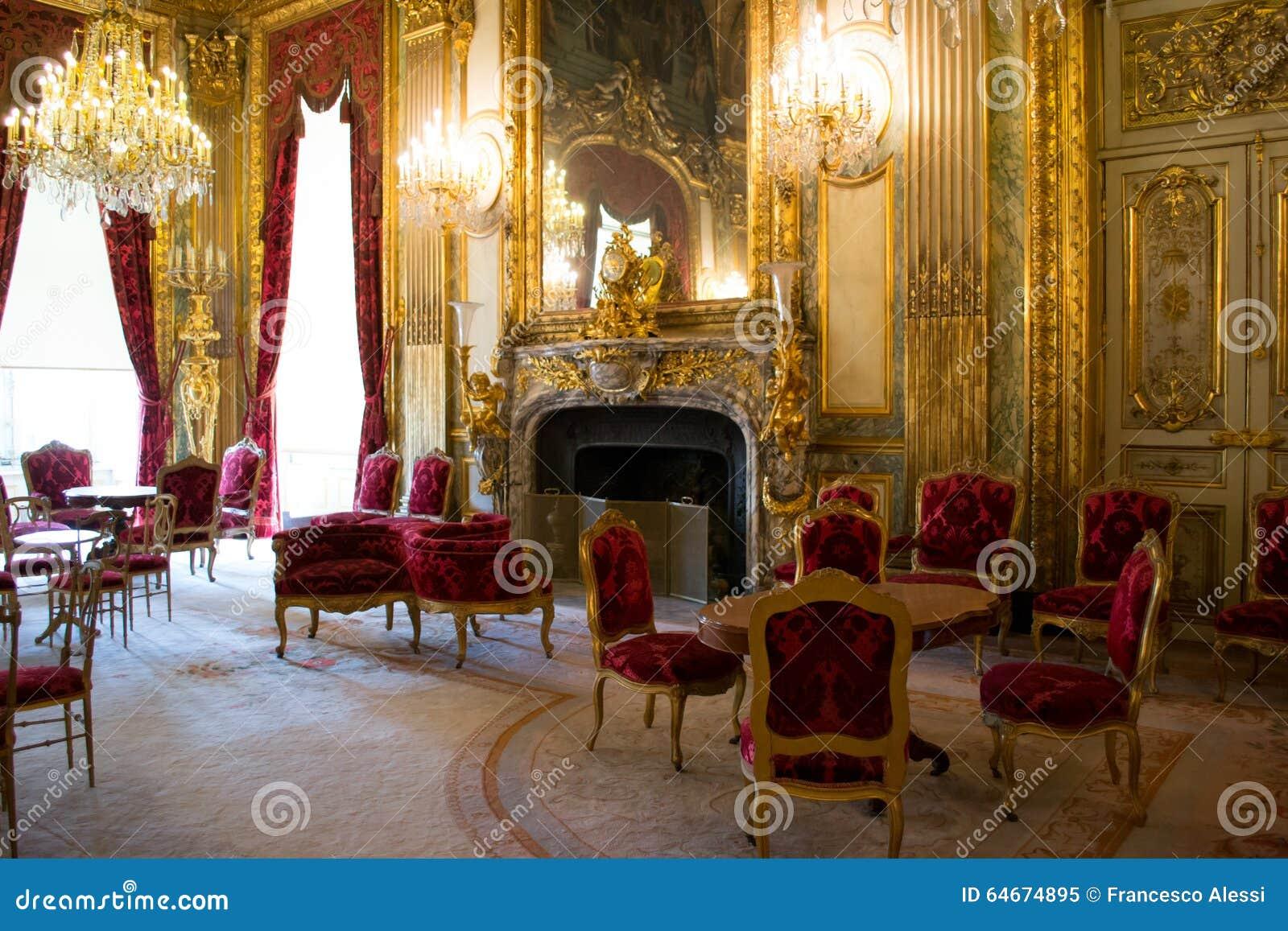 Ch teau int rieur de versailles image ditorial image for Chateau de versailles interieur