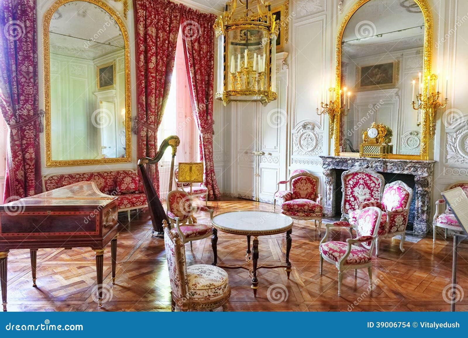 Ch teau int rieur de versailles paris france photo for Interieur frans