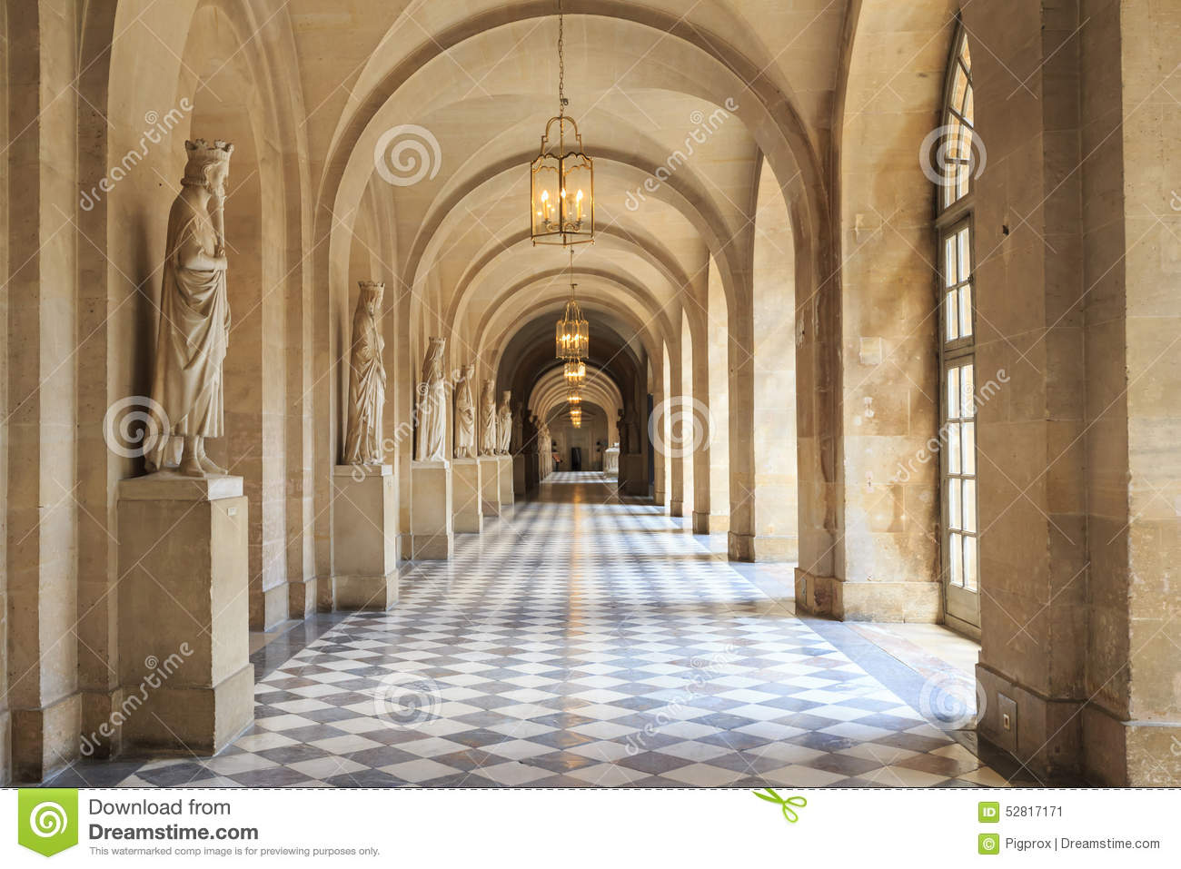 Ch teau int rieur de versailles versailles france photo for Chateau de versailles interieur