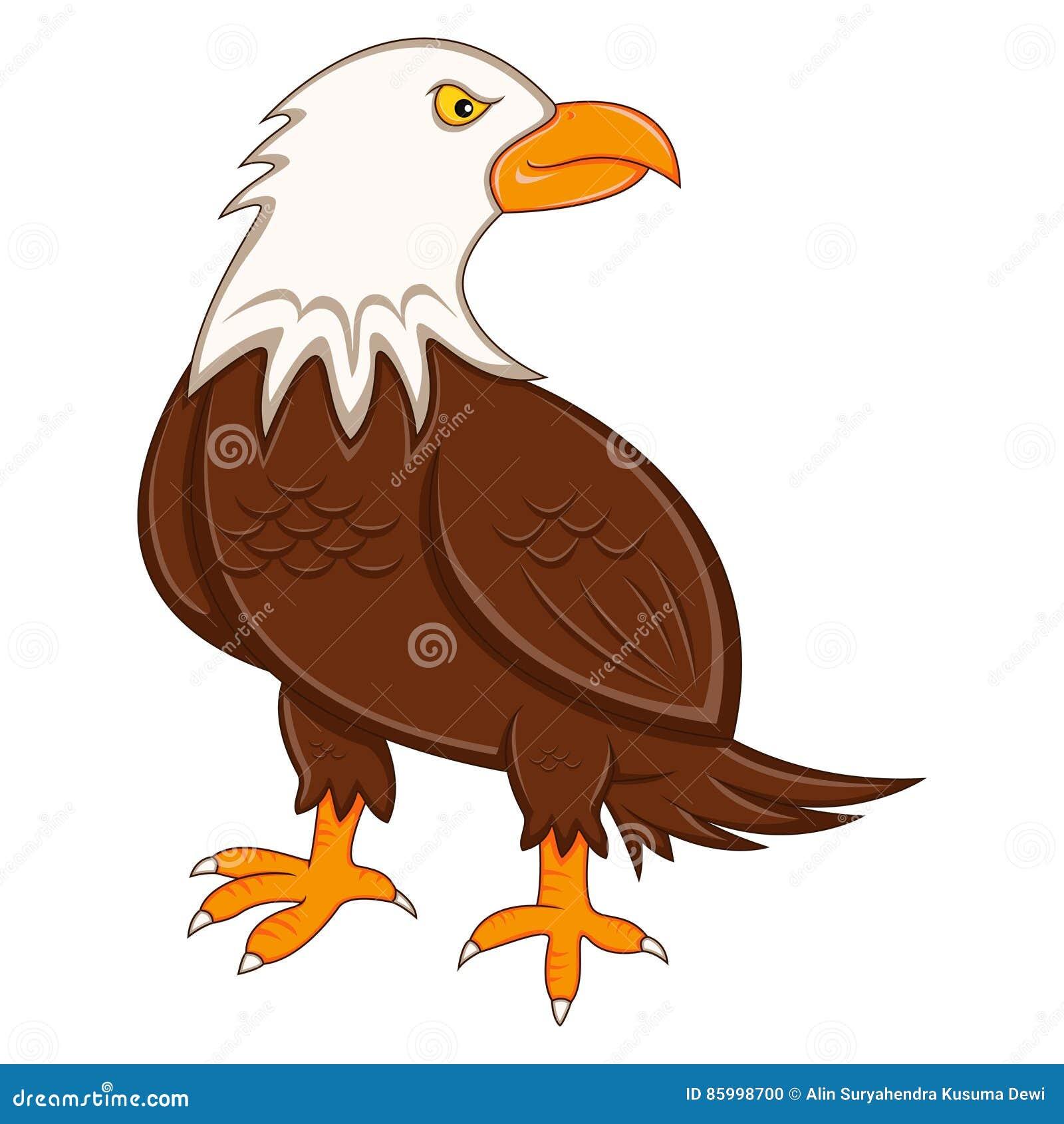 Chłodno Eagle kreskówka