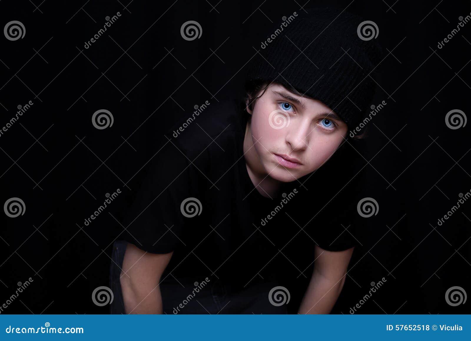 Chłopcy portret nastolatków