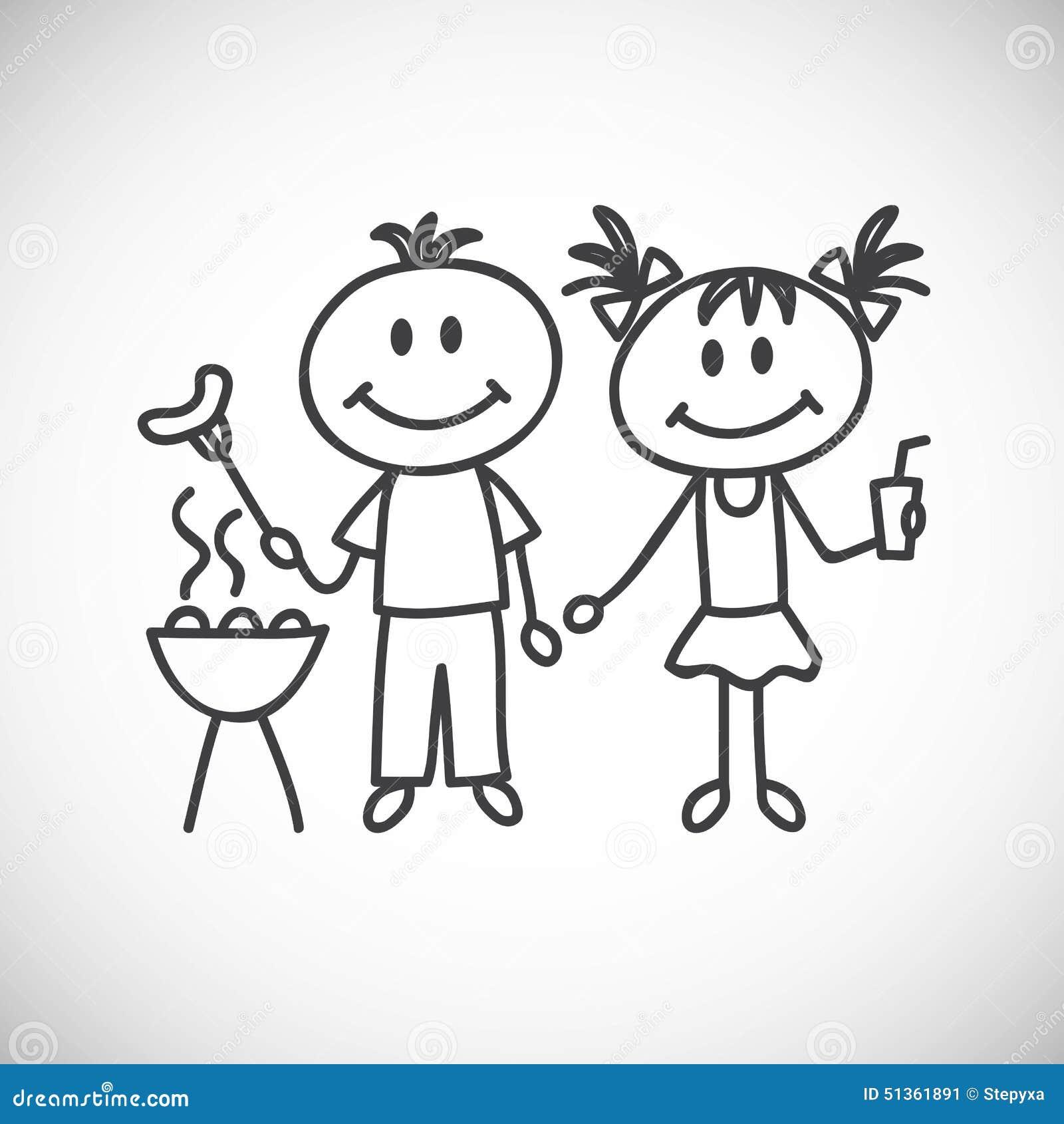 Chłopiec i dziewczyna