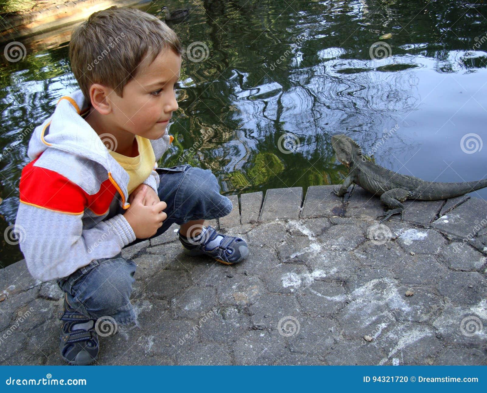 Chłopiec i smok Australia
