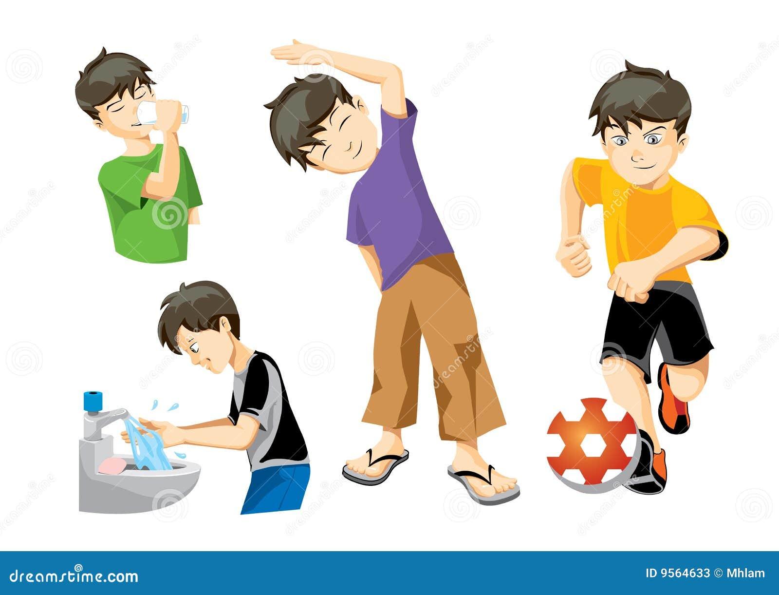 Chłopiec ilustracje