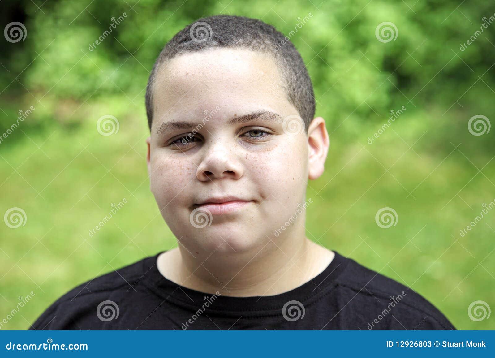 Chłopiec latynosa portret