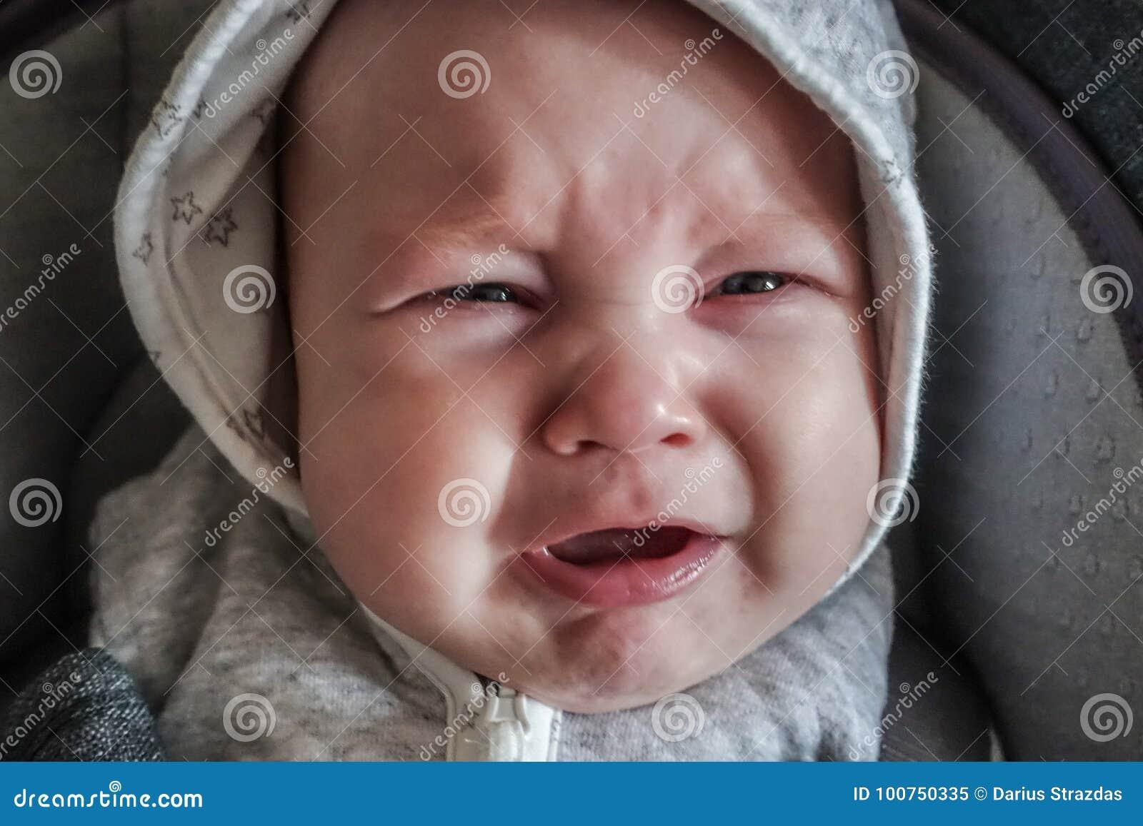 Chłopiec płacz