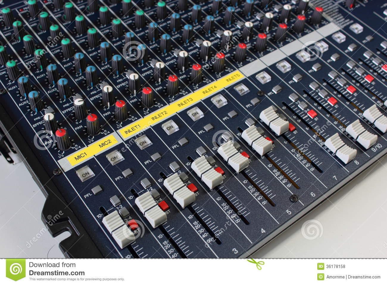 Free images: desk, technology, controller, analog, amplifier.