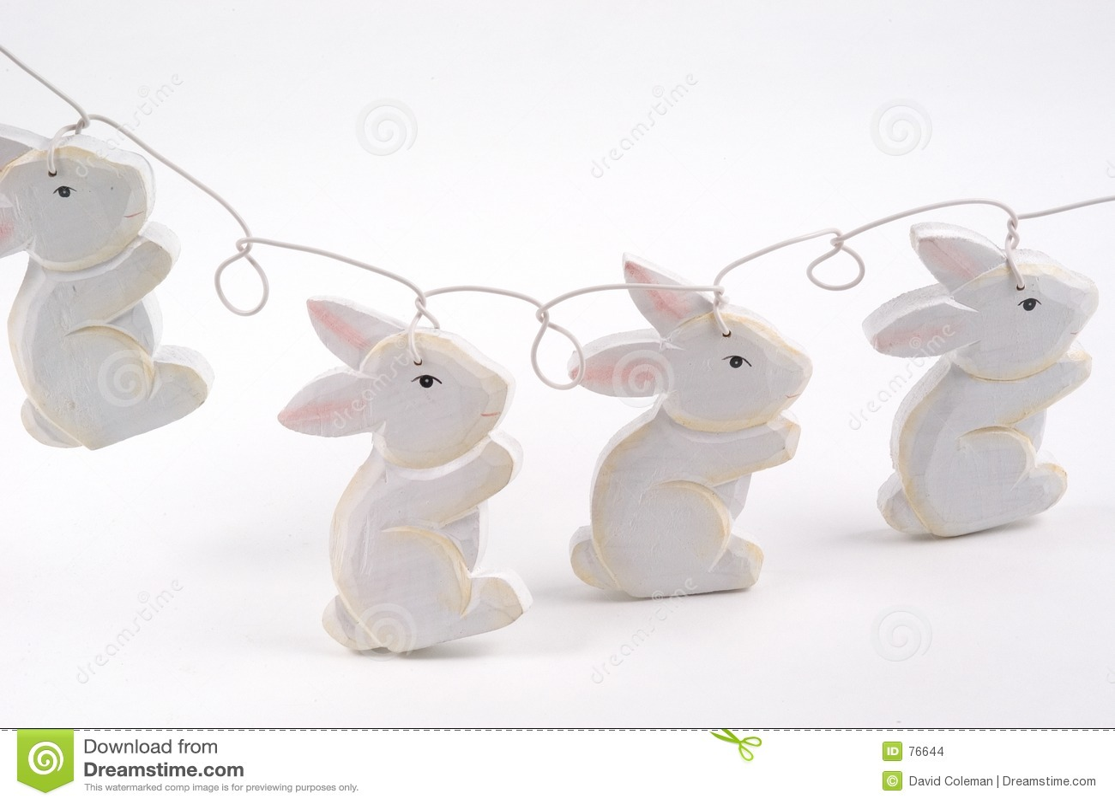 Chaîne de caractères de lapin
