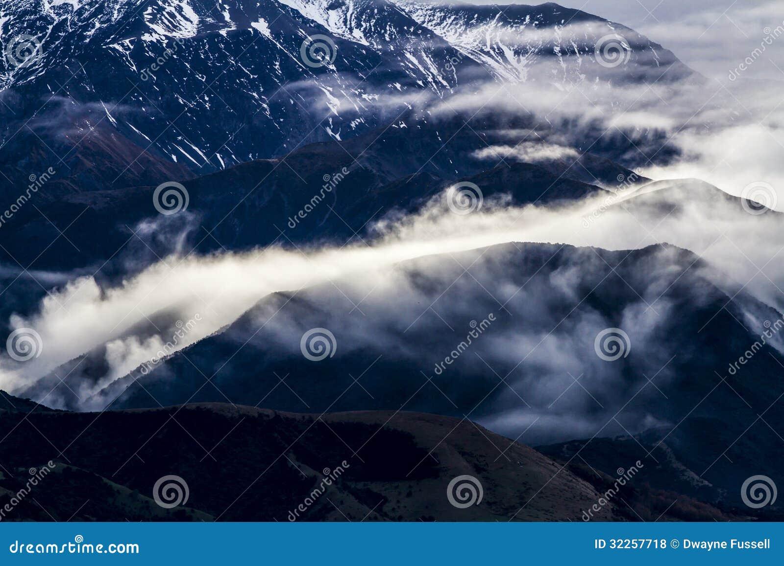 Chaîne de montagne de Kaikoura