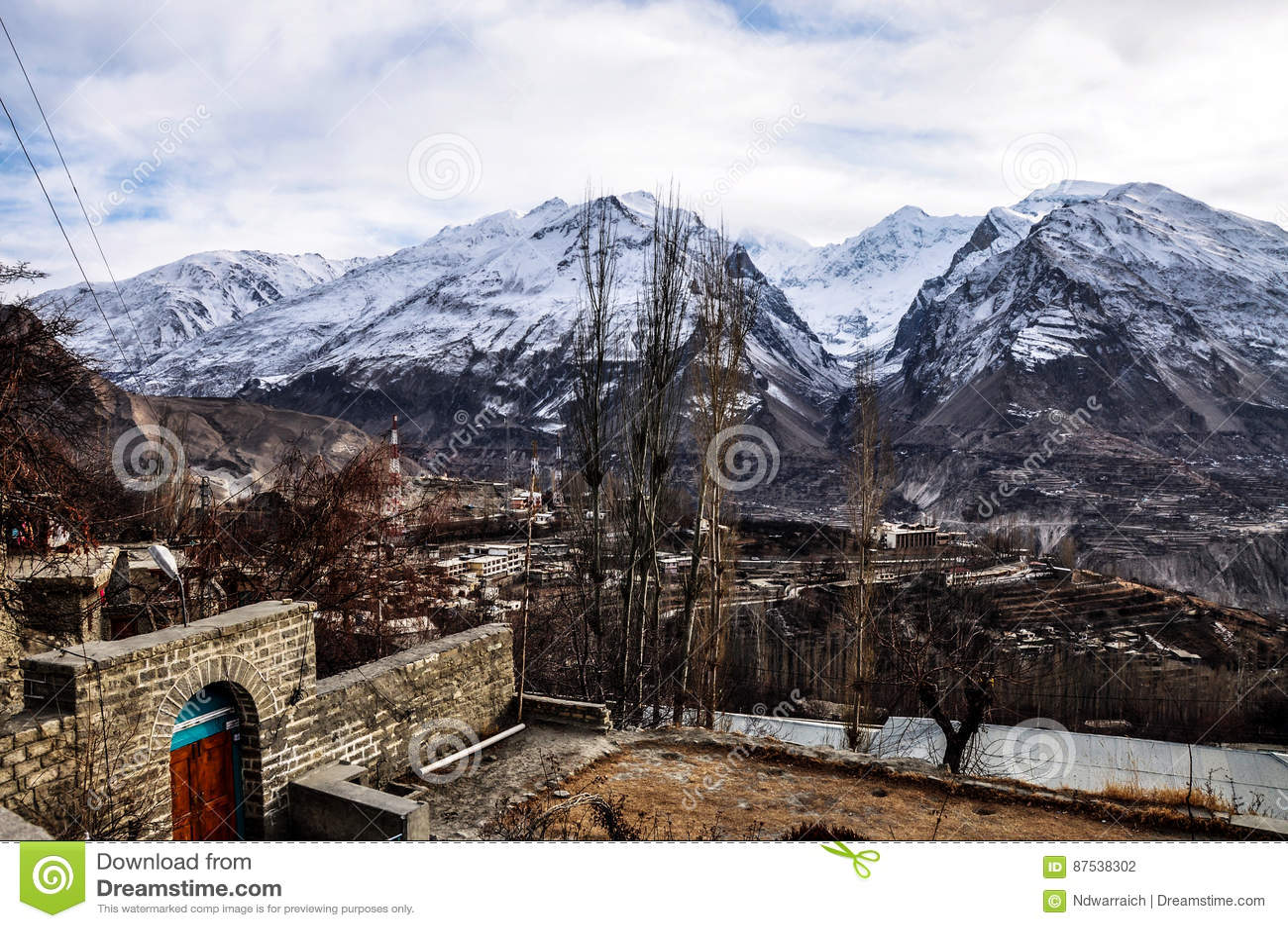 Chaîne de montagnes de Batura Muztagh