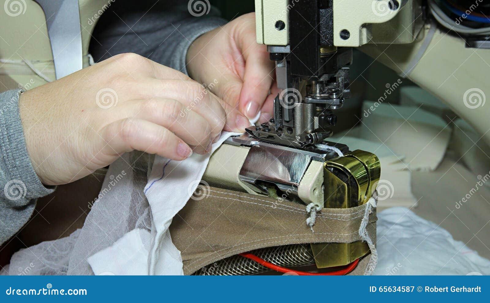 Chaîne de production d une usine de vêtement