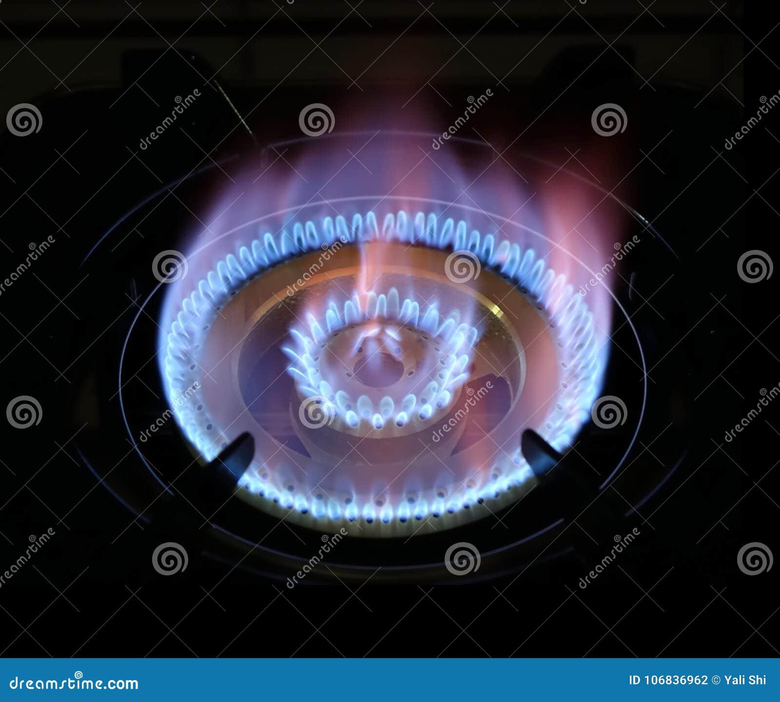 Chaîne naturelle de cuisinière à gaz