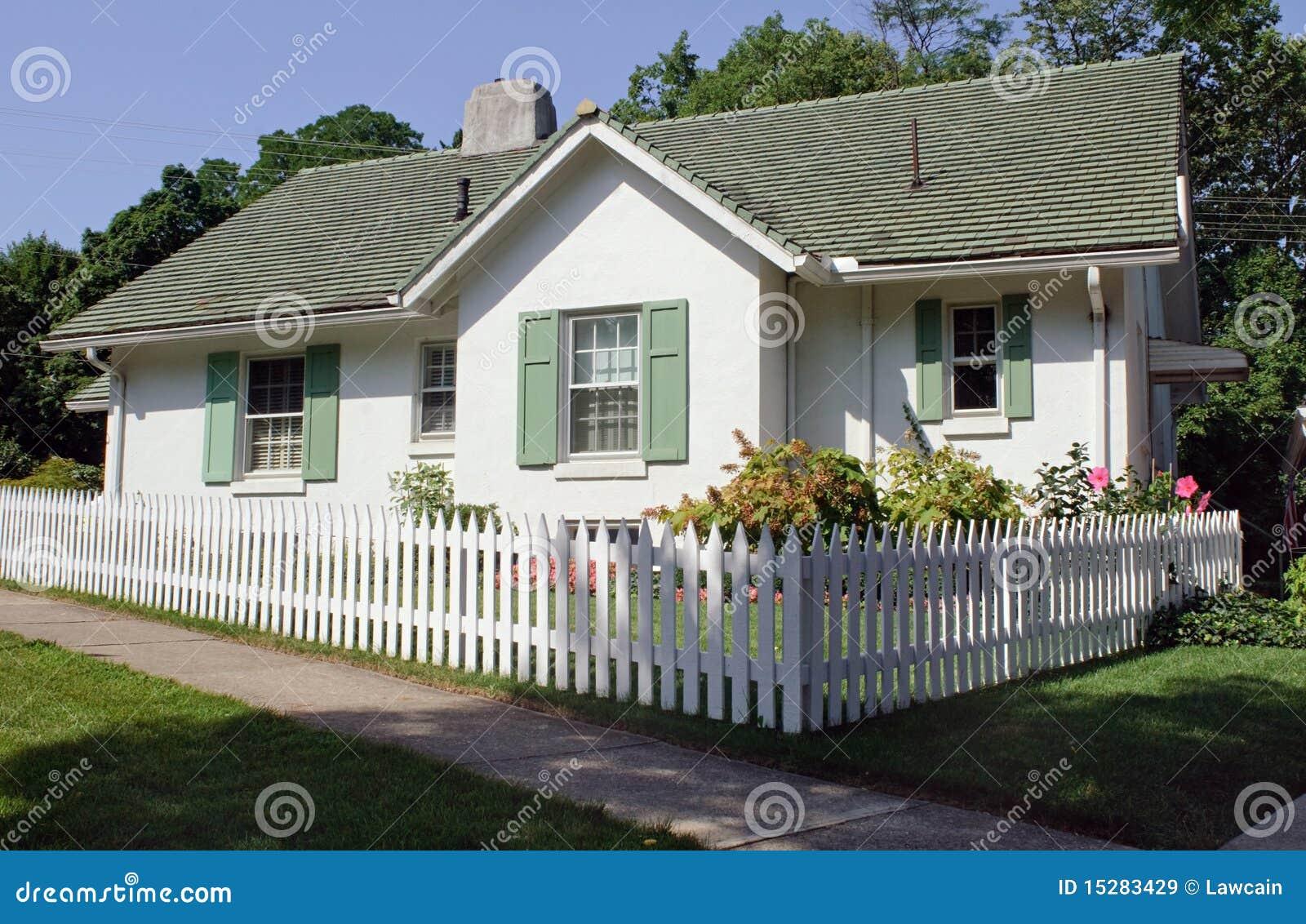 Chałupy ogrodzenia palik