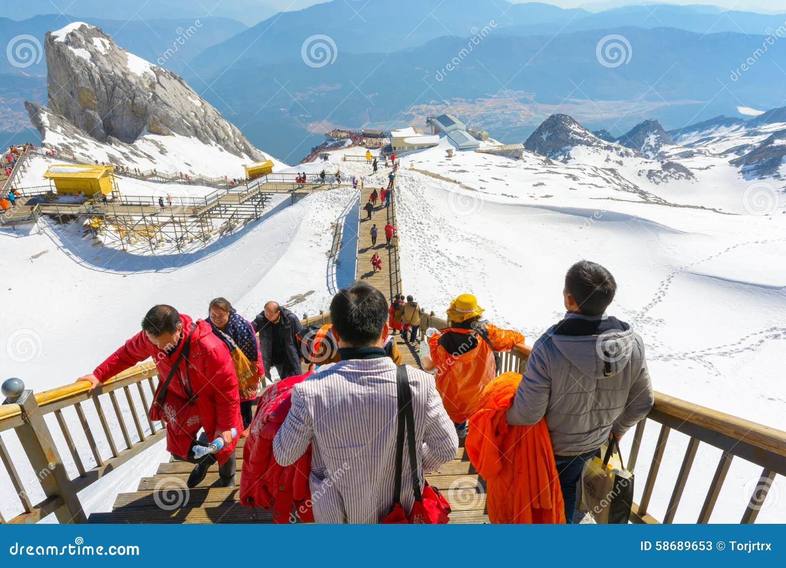 Chabeta smoka śniegu góra
