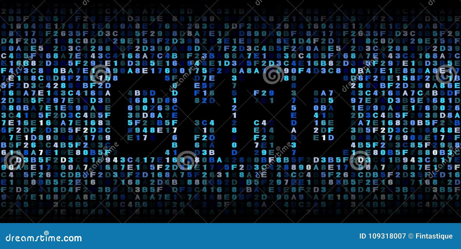 Chad Text On Hex Code Illustration Stock Illustration - Illustration