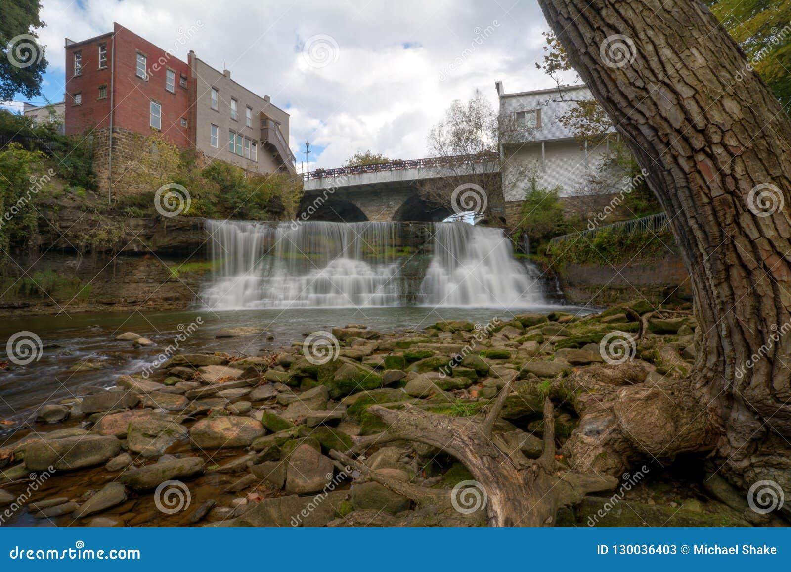 Chagrin Falls Ohio Waterfall