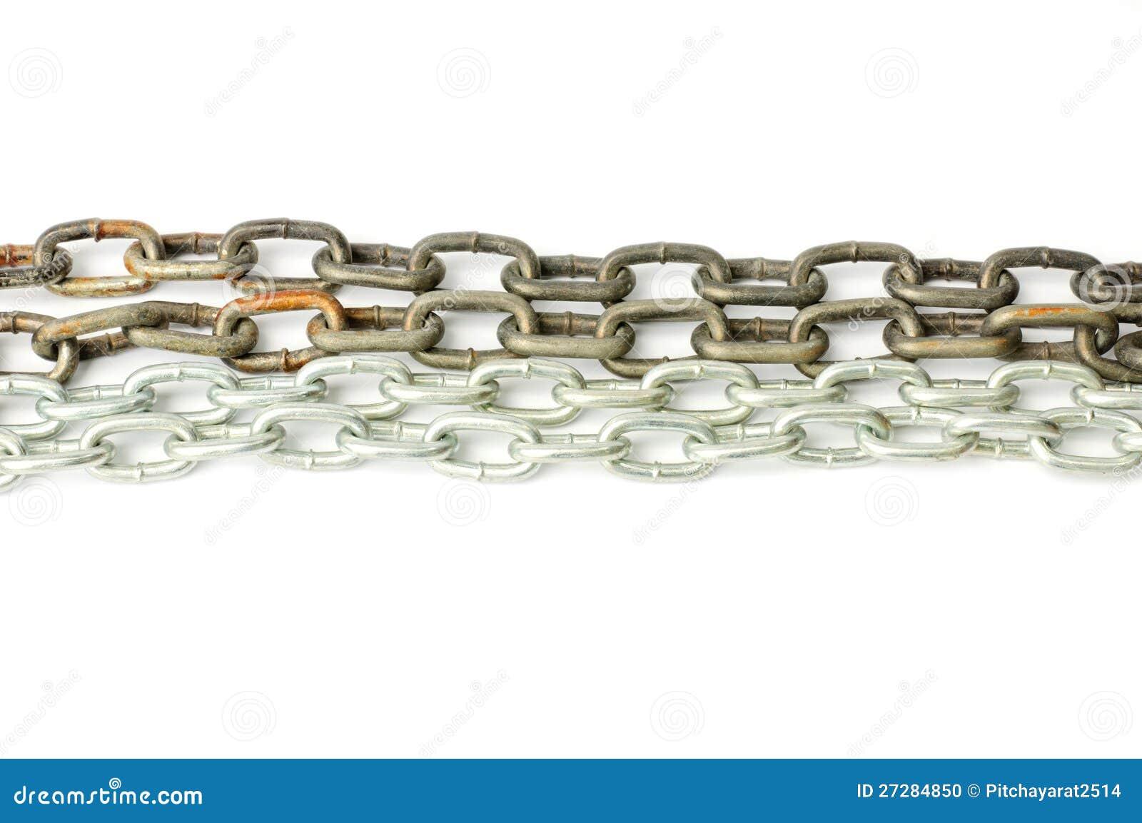 Chain bakgrund för metall