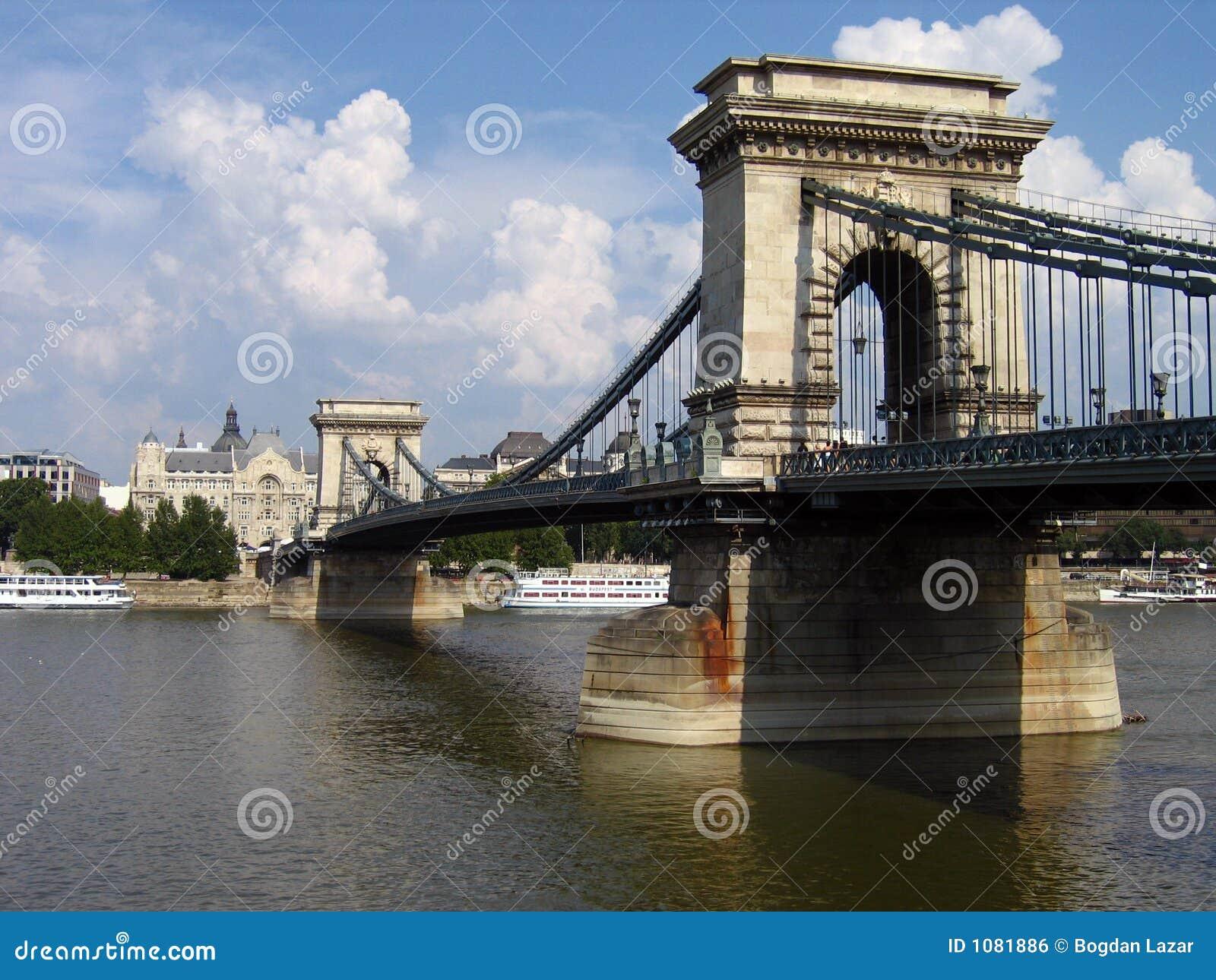 Chain Bridge of Budapest, Hungary
