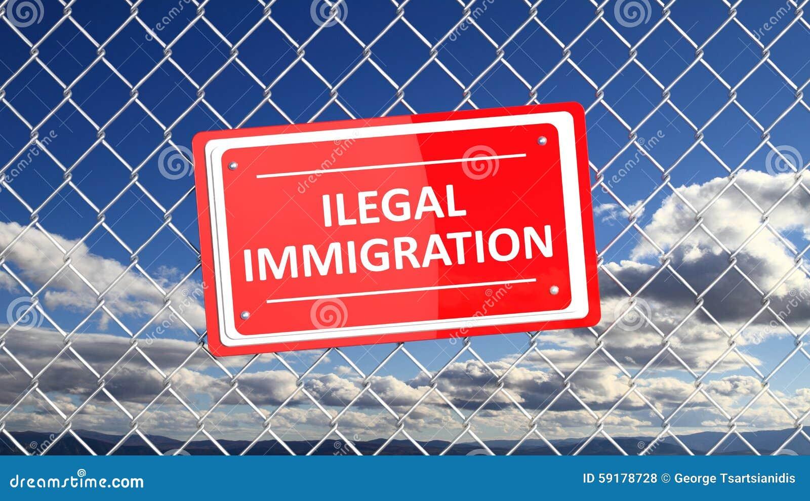 Three Essays on Illegal Immigration