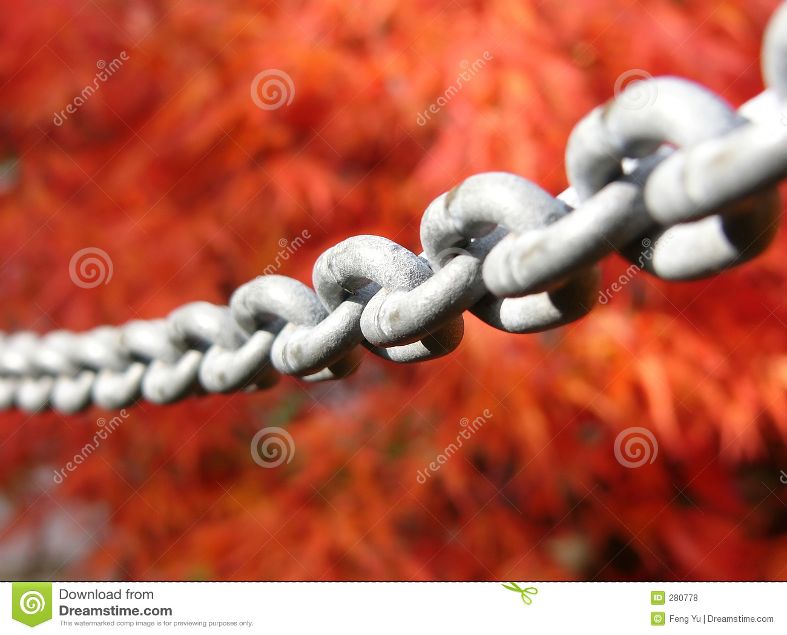 Chain järn