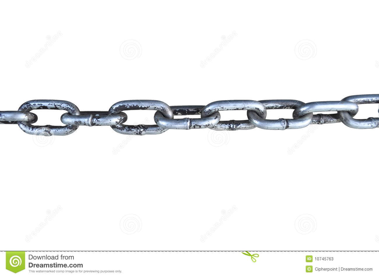Chain Link stock image  Image of safety, linkages, shackle