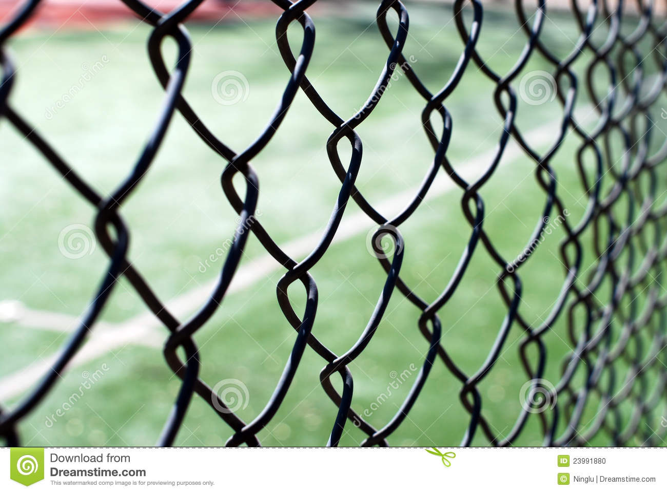 Chain fence stock photography cartoondealer