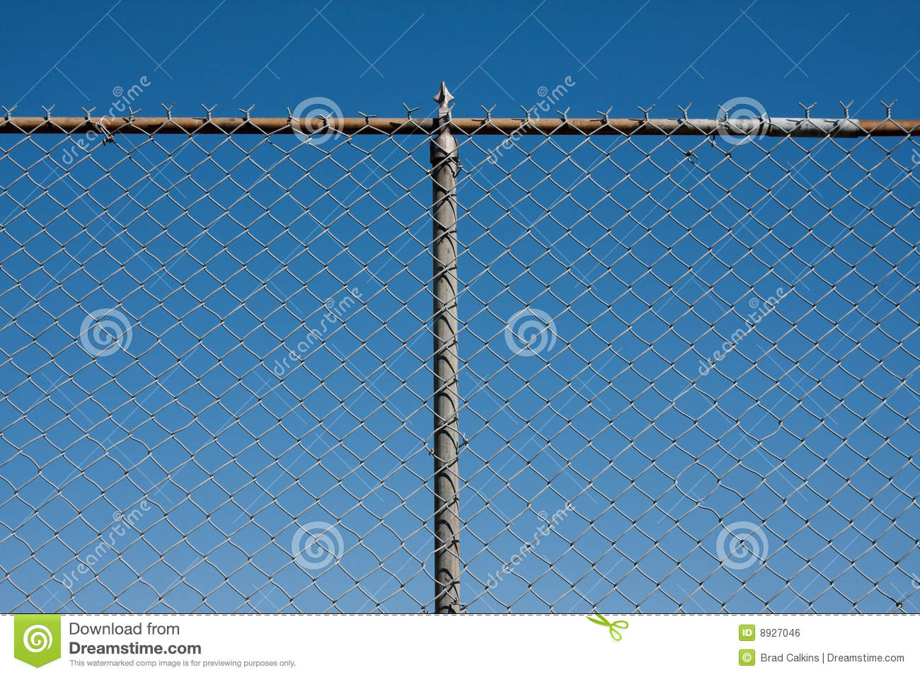 Chain link fence royalty free stock image image 8927046 for Chain link fence planner
