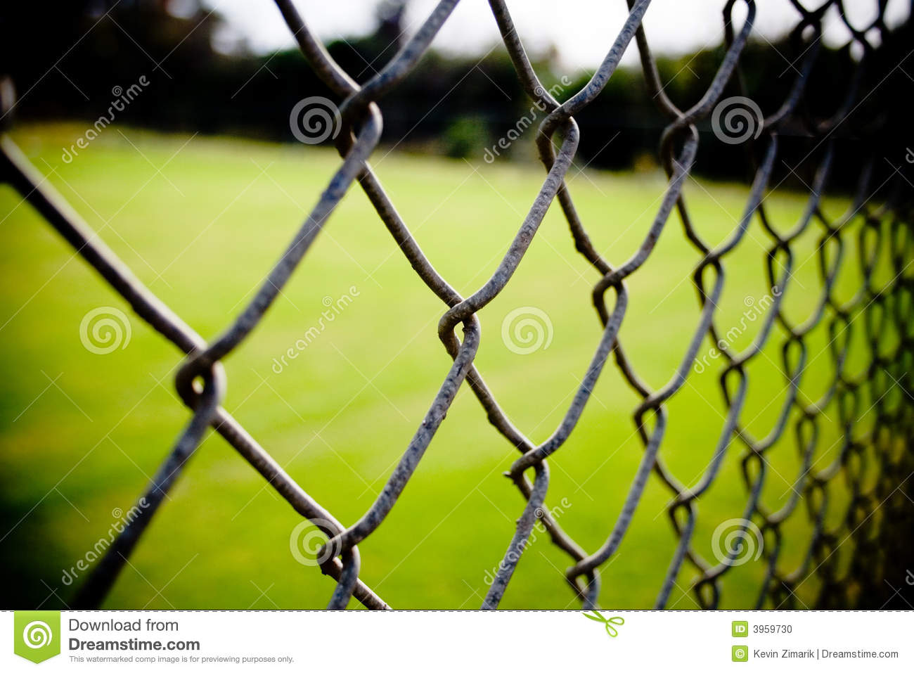 Chain Link Fence Closeup Stock Photo Image Of Fencing