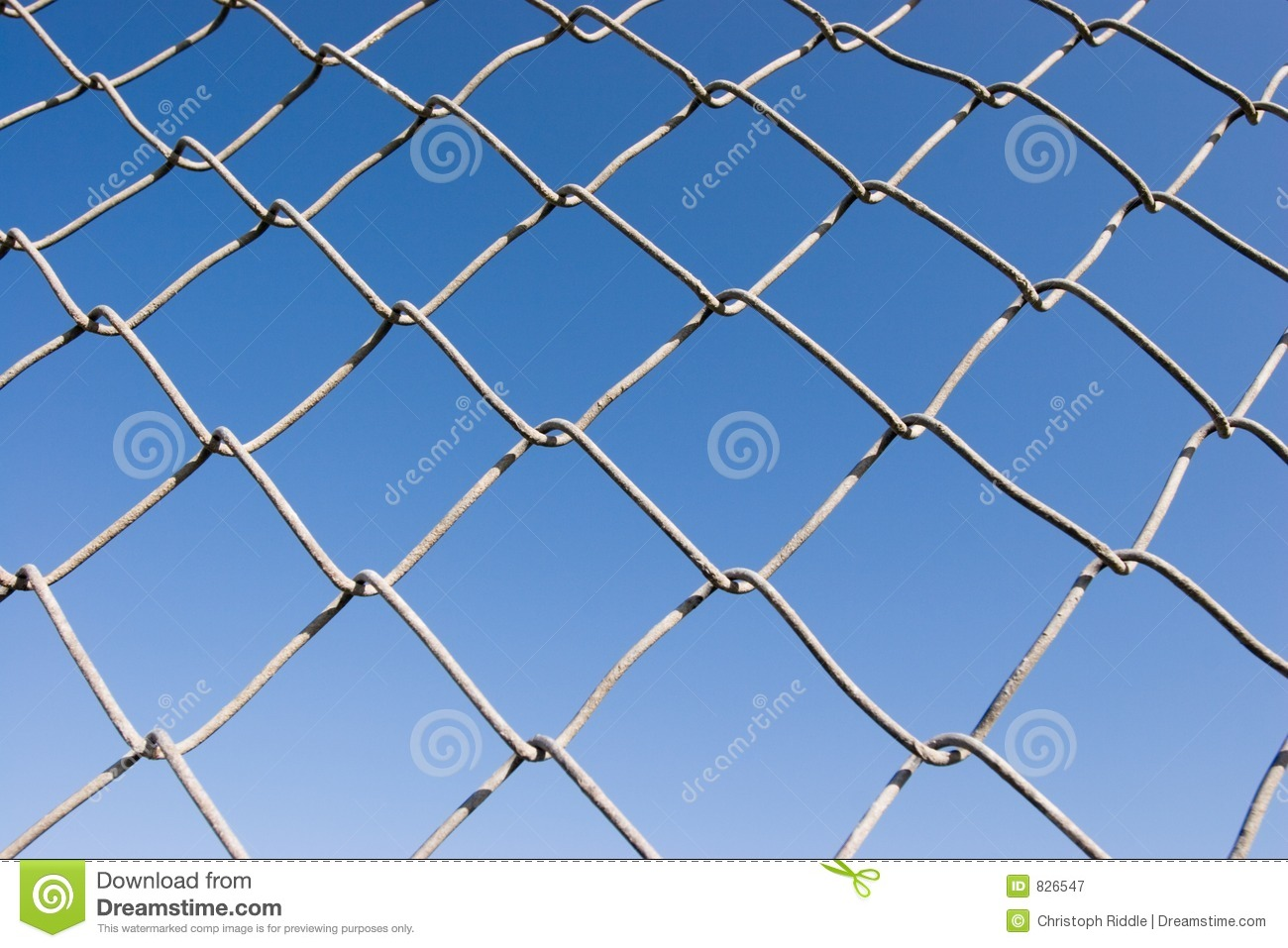 Chain link fence series stock image image of grey for Chain link fence planner