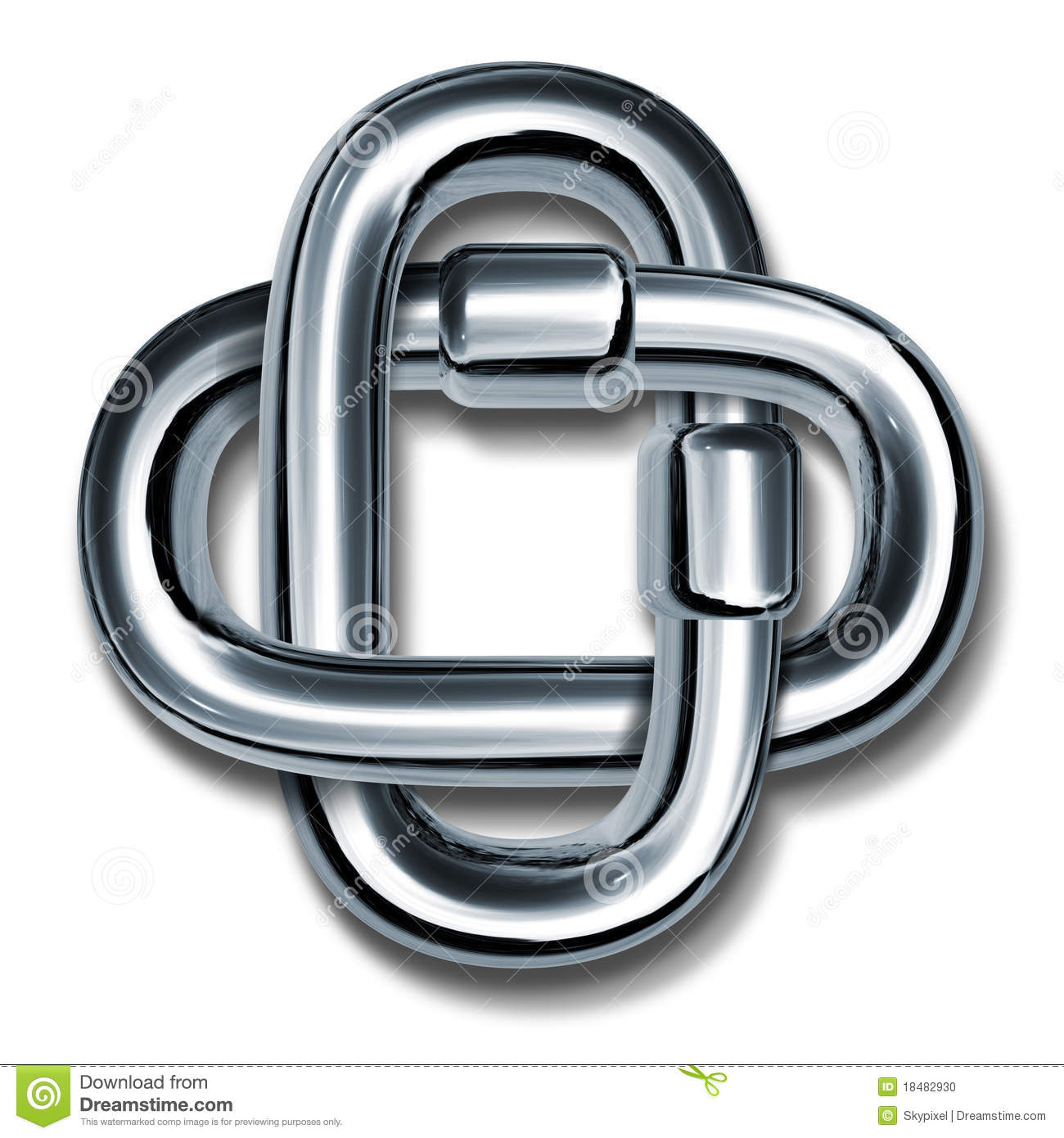 Chain links symbol of strength and unity stock illustration chain links symbol of strength and unity biocorpaavc Image collections