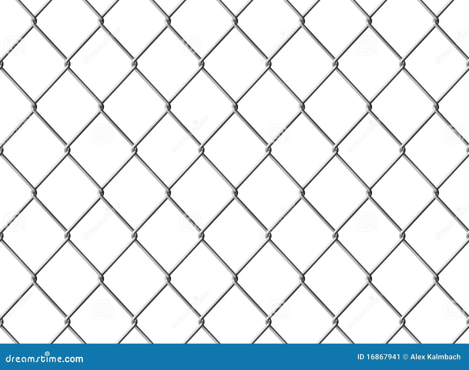 Chainlink Fence Stock Illustration Illustration Of Chain 16867941