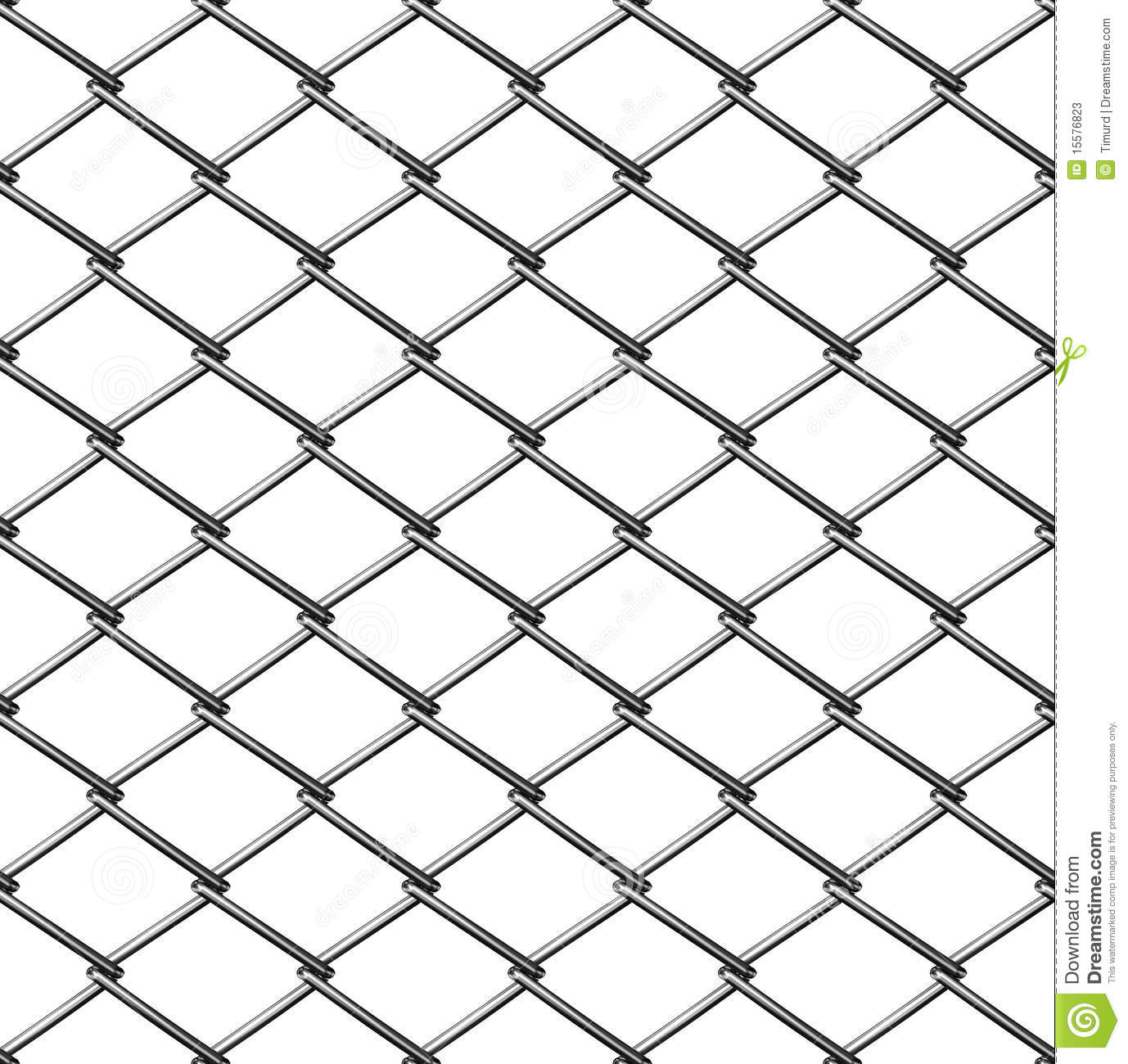 Chainlink fence seamless stock image cartoondealer
