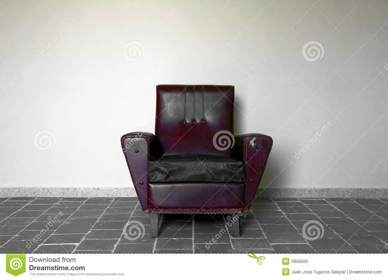 chair against wall royalty free stock image image 3856006. Black Bedroom Furniture Sets. Home Design Ideas