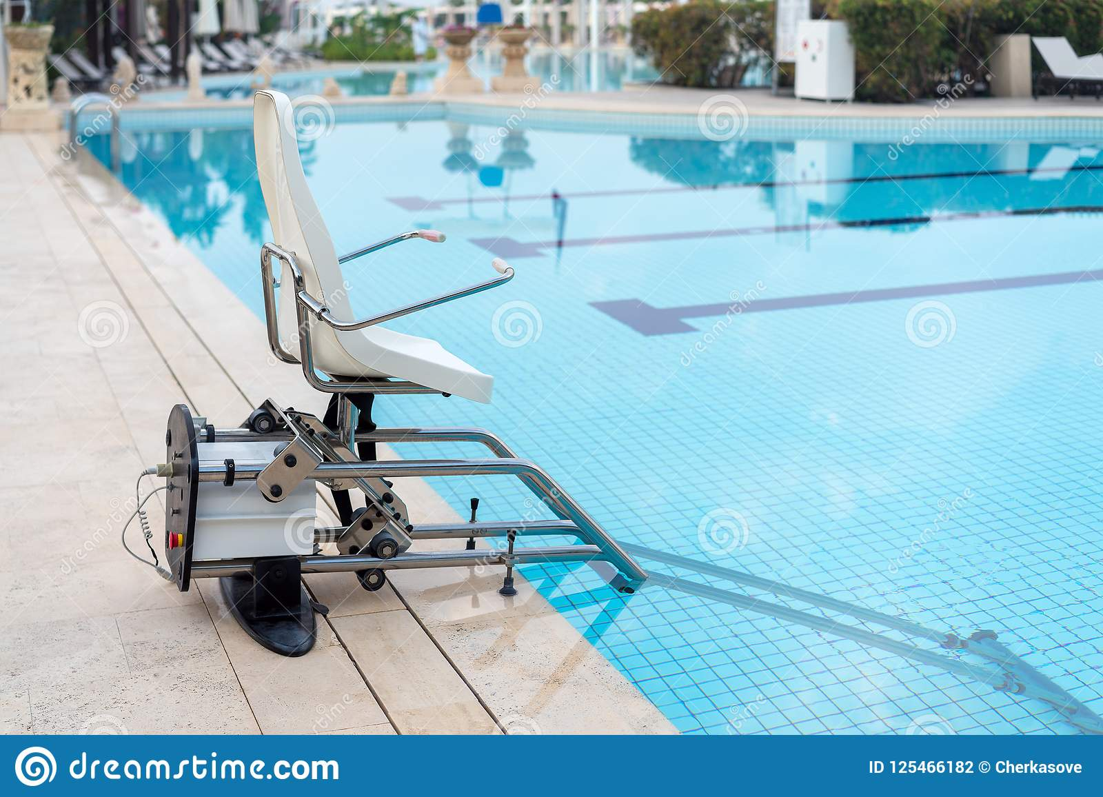 Swimming Pool Lifts For Disabled People Access To The Pool ...